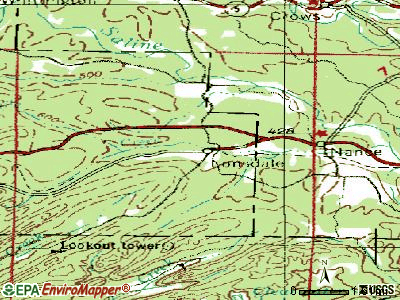 Lonsdale topographic map