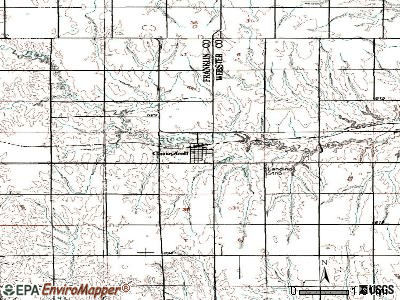 Campbell topographic map