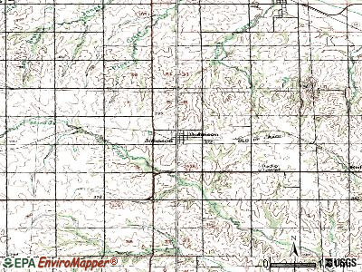 Johnson topographic map