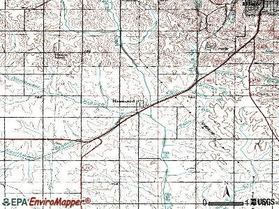 La Vista topographic map