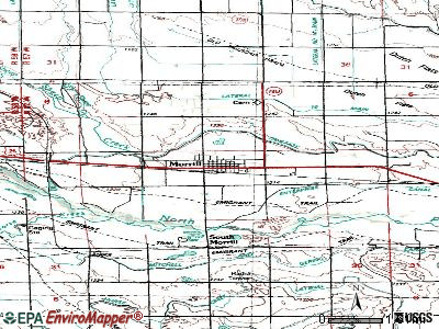 Morrill topographic map