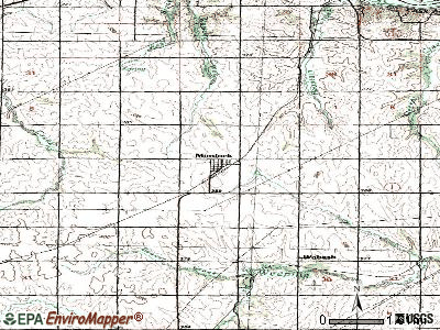 Murdock topographic map