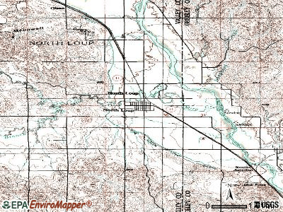 North Loup topographic map