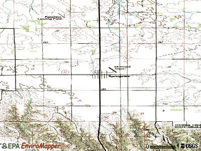 Springview topographic map