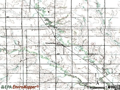 Staplehurst topographic map