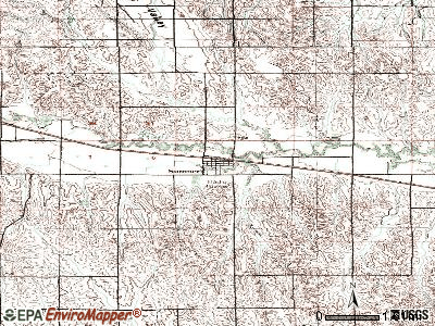 Sumner topographic map