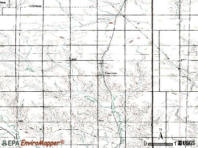 Tarnov topographic map