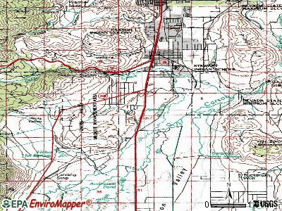 Indian Hills topographic map
