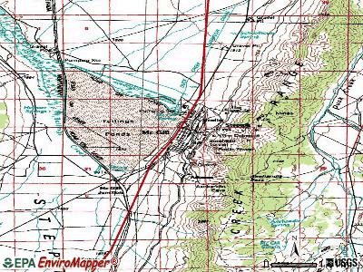 McGill topographic map