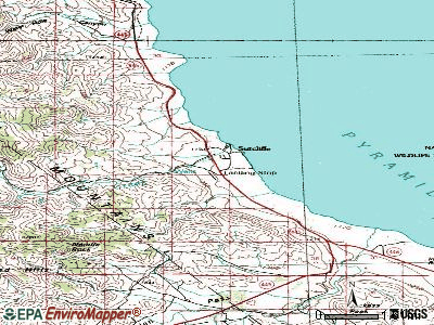 Sutcliffe topographic map