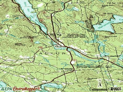 Alton topographic map