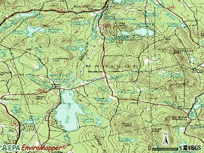 Madison topographic map