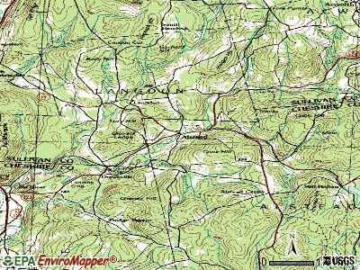 Alstead topographic map