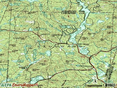 Stoddard topographic map