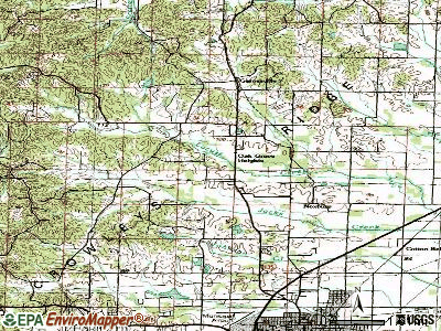 Oak Grove Heights topographic map