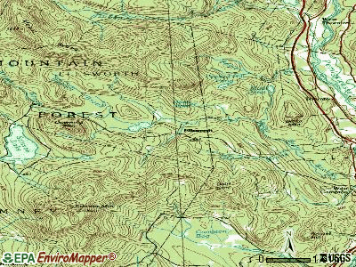 Franconia topographic map