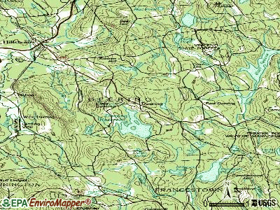 Deering topographic map