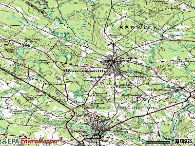 Somersworth topographic map
