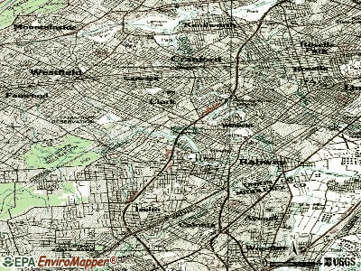 Clark topographic map