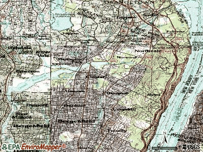 Closter topographic map