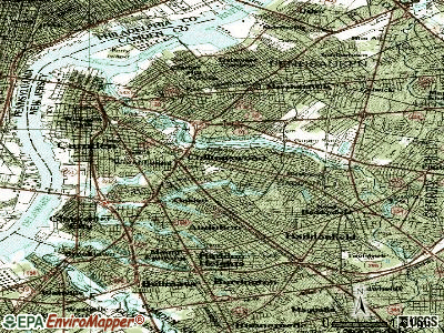 Collingswood topographic map