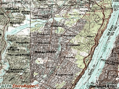 Cresskill topographic map