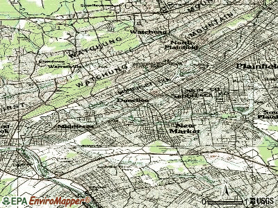 Dunellen topographic map