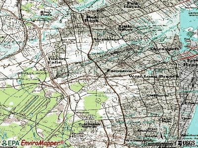 Eatontown topographic map