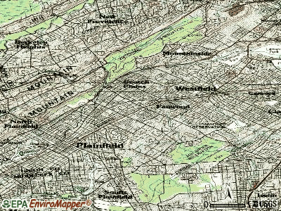 Fanwood topographic map