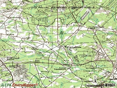 Farmingdale topographic map