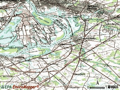 Fieldsboro topographic map