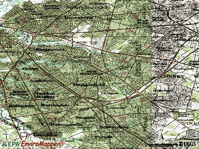 Haddonfield topographic map