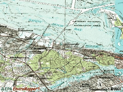 Leonardo topographic map