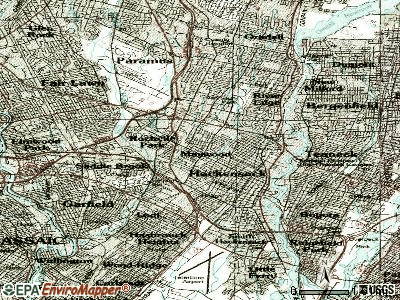 Maywood topographic map