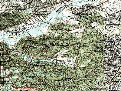 Merchantville topographic map