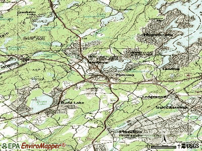 Netcong topographic map