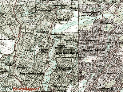 New Milford topographic map