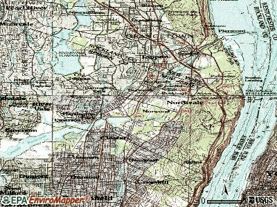 Norwood topographic map