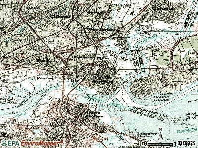 Perth Amboy topographic map