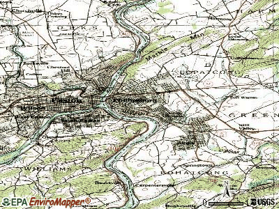 Phillipsburg topographic map