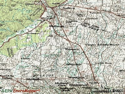 Ramsey topographic map