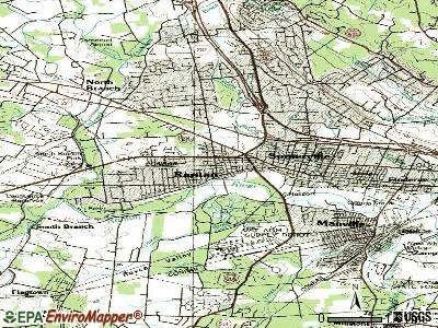 Raritan topographic map