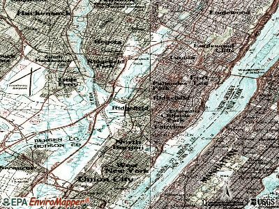 Ridgefield topographic map
