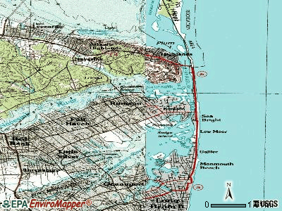 Rumson topographic map