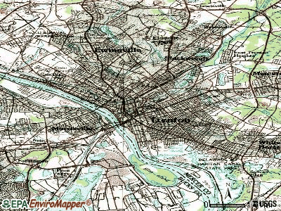 Trenton topographic map