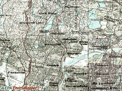 Westwood topographic map
