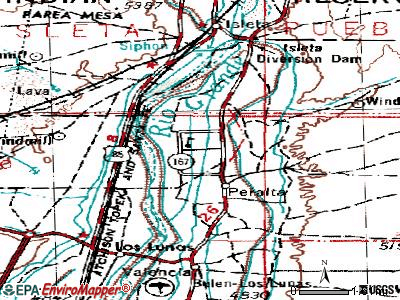 Bosque Farms topographic map