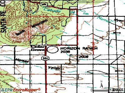 Cedar Grove topographic map