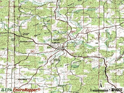Salem topographic map