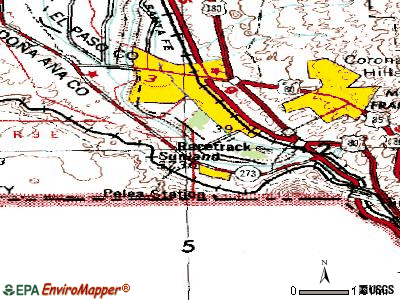 Springer topographic map